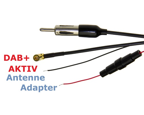 adapter universe dab aktiv antenne splitter adapter auto. Black Bedroom Furniture Sets. Home Design Ideas