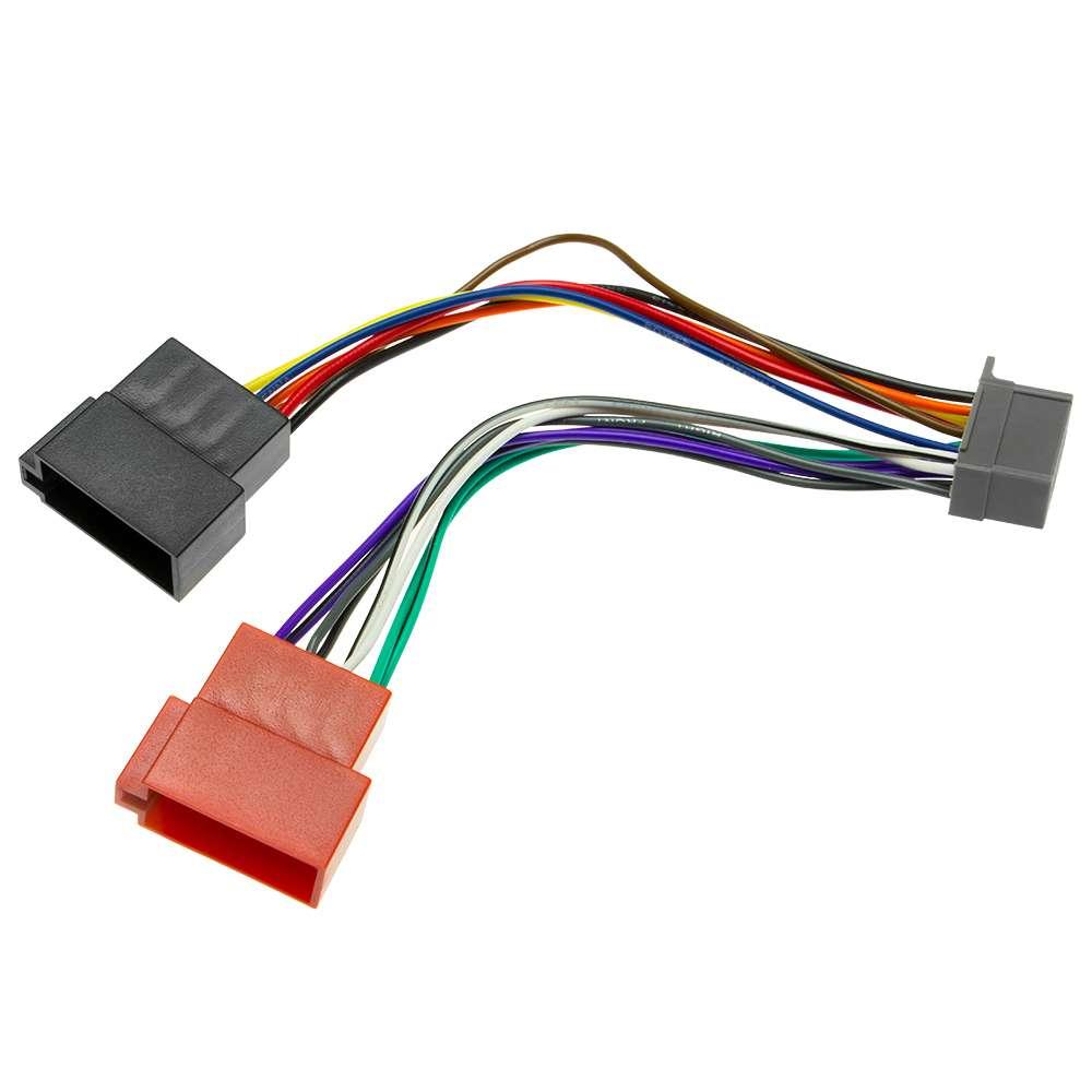 Auto Radio Adapter DIN ISO Kabel Stecker Plug&Play f Panasonic CQ ...