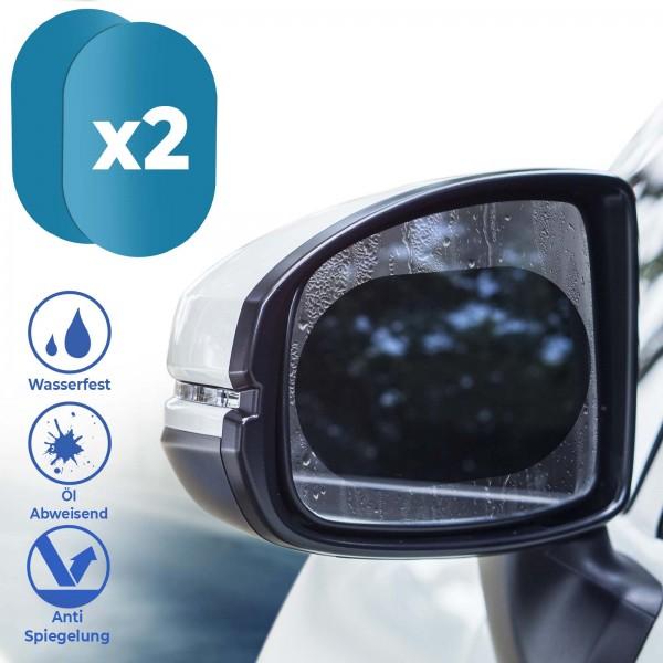 Auto Anti Wasser Nebel Set Film Sticker Rück Spiegel Schutz Folie Kit Universal