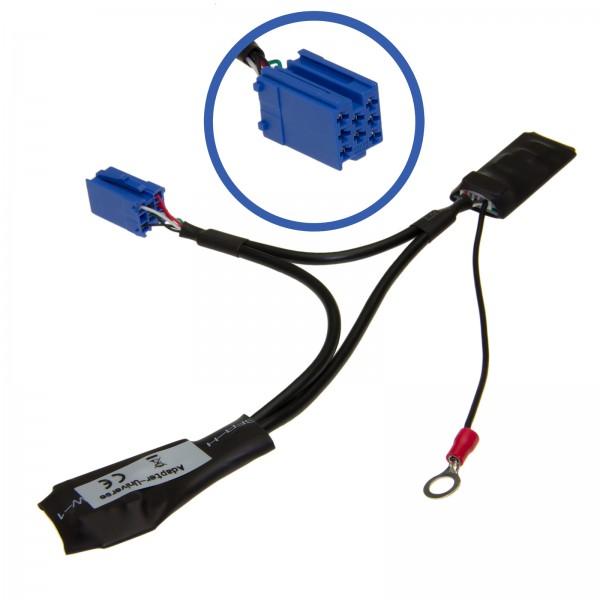 KFZ Auto Radio Bluetooth Adapter Interface 8pol Mini ISO für SEAT Alana Aura CD elba Lena Liceo Scal