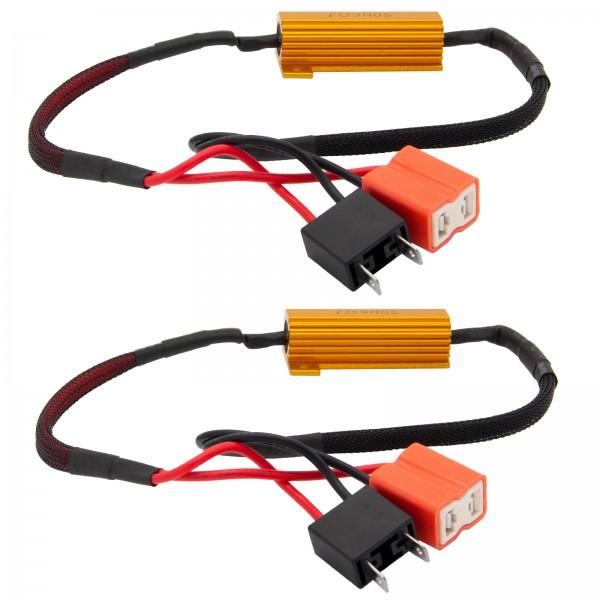 2 x H7 LED SMD CANBUS No Error 50W Widerstände Widerstand Nebelscheinwerfer
