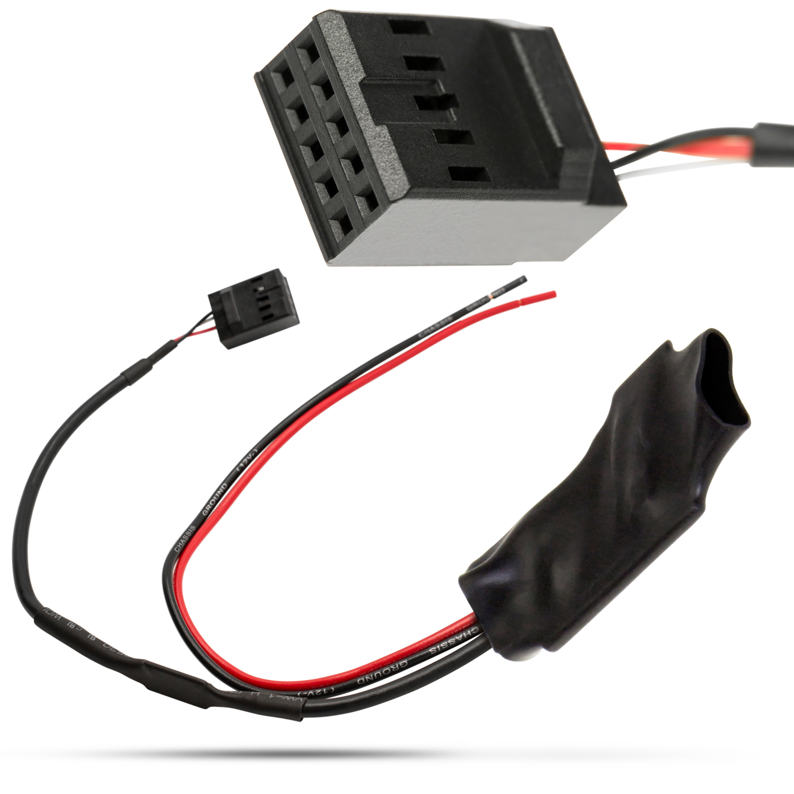 kfz auto bluetooth aux in adapter kabel verst rker. Black Bedroom Furniture Sets. Home Design Ideas