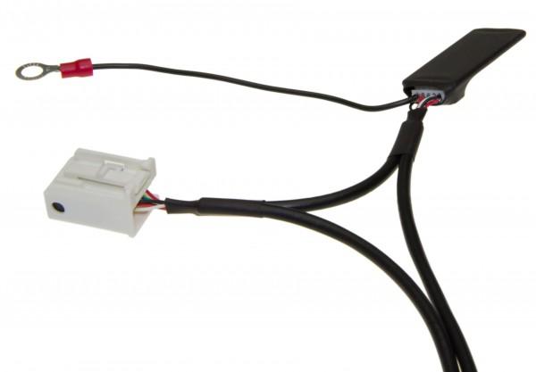 KFZ Auto Radio Bluetooth Modul AUX Interface 12pol Quadlock f Audi RNS-E VW MCD