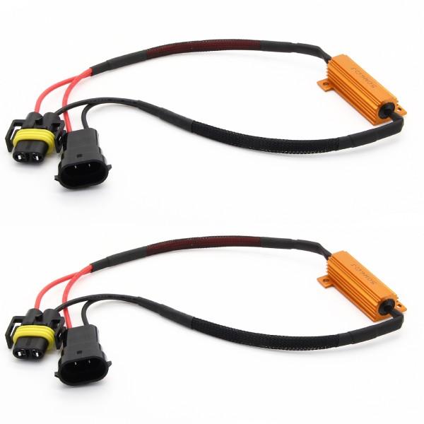 2 x H8 H11 LED SMD CANBUS 50W Widerstände Widerstand Nebelscheinwerfer
