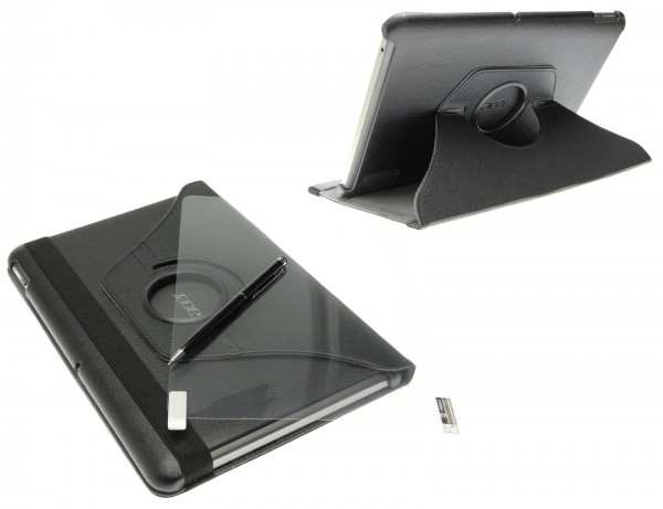 Smart Cover Edles Luxus Case Tasche Schutz Hülle Etui 360 f Acer Iconia A211