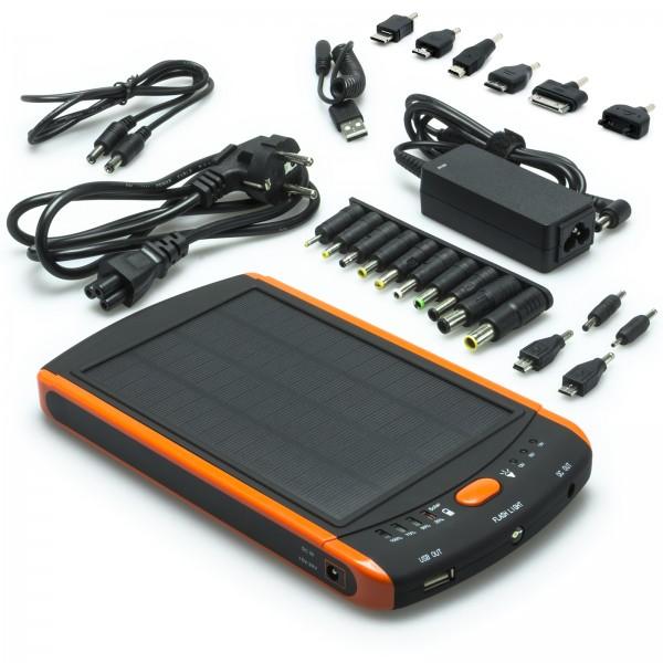 Power Bank Ladegerät 23000mAh externer Akku Solar 5V - 19V für iPad Air
