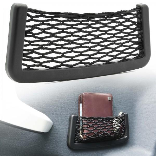 KFZ Auto Ablagenetz Stretch-Fach Ablage Stretchnetz Autonetz Gepäcknetz 20 x 8 cm Universal
