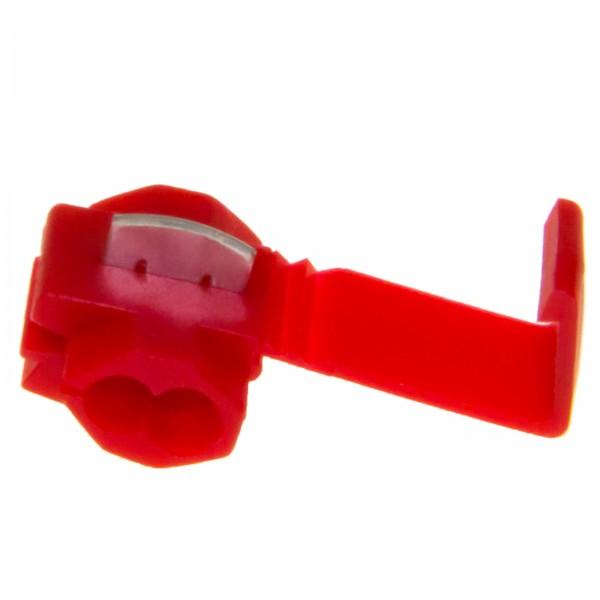 1 St. ROT Abzweig Schnellverbinder Stromdiebe Lüsterklemme Kabel 0,5-1,5mm