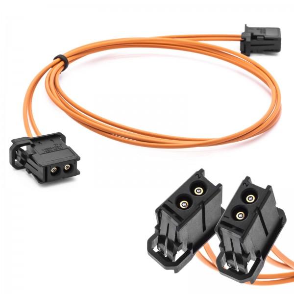 Auto MOST LWL Lichtwellenleiter 1m Kabelsatz Verlängerung für BMW Audi Mercedes