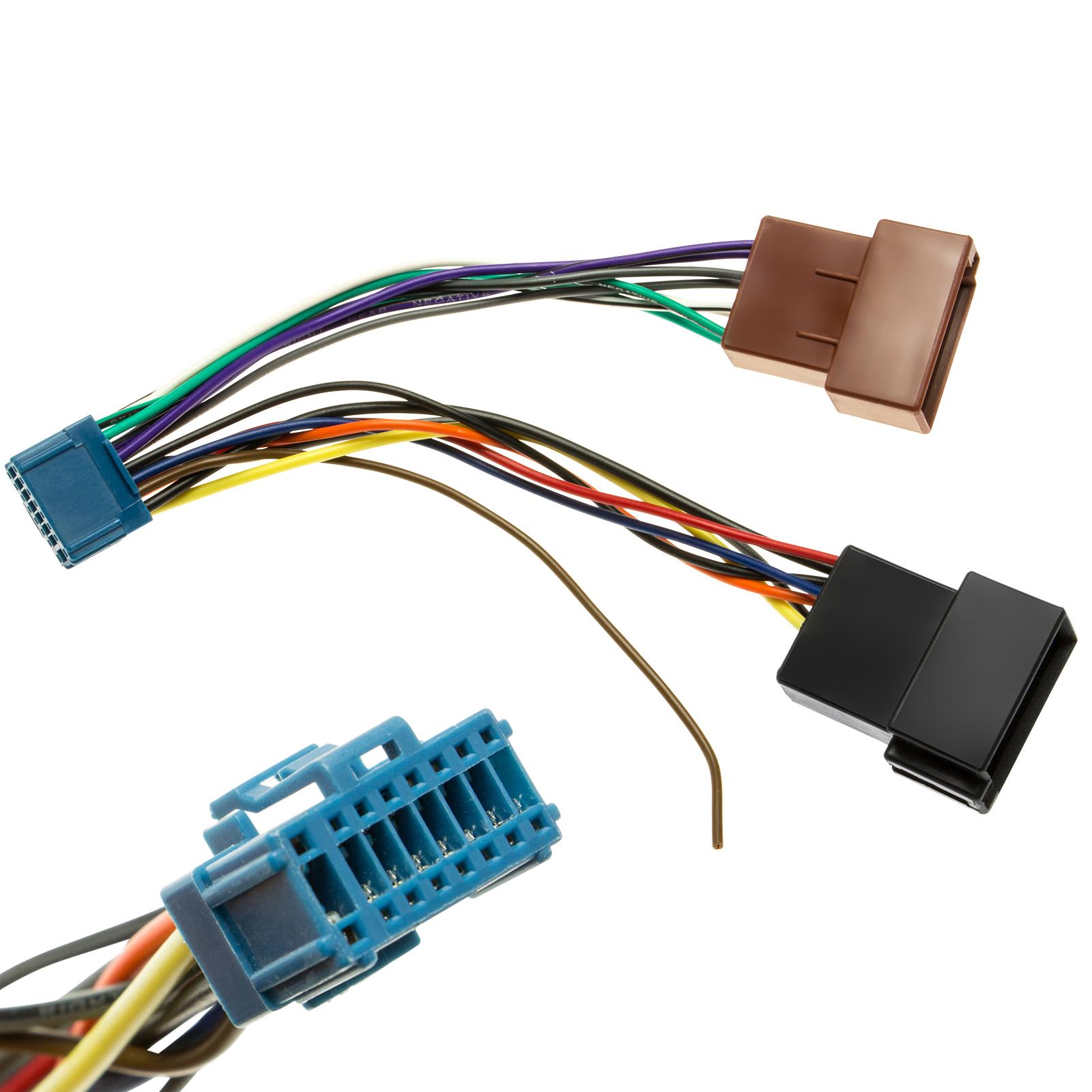 Auto Radio Adapter Kabel Stecker Kabelbaum Plug&Play DIN ISO f ...