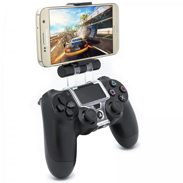 Handy Controller Halterung Smartphone Gamepad Joystick Halter 6 Zoll für PS4