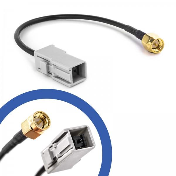 Auto KFZ Antennen Adapter GT5 (M) Buchse auf SMA (M) Stecker Kabel GSM GPS DAB