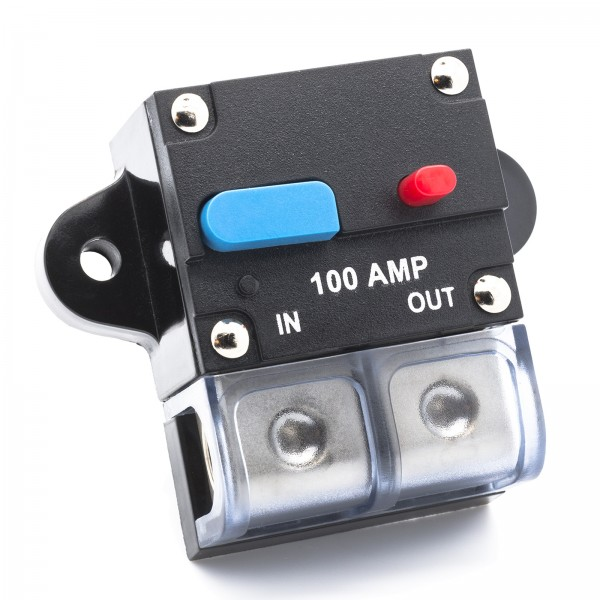 100A~300A Automatische Sicherung Automat Automatik Schalter KFZ Auto LKW Boot