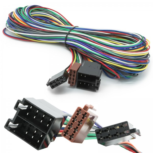 5 m Verlängerung Auto Radio Adapter Kabel ISO Buchse auf ISO Stecker Universal
